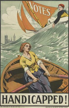 Posters of the women's suffrage movement to mark #vote100 go on display at Cambridge University Library | Cambridge University Library