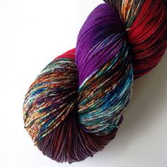 Ricochet of Fortune Dyed to Order 4ply by theflyingkettle, $25.00 cashmere