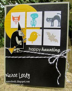 Canopy Crafts: Freaky Friends for the Paper Players {PP215}