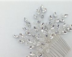 Crystal Bridal Hair Comb, Wedding Hair Comb, Crystal Hair Comb, Bridal Headpiece