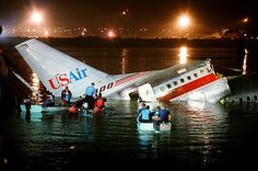 Water Landings: USAir Flight 5050 (1989). Crashed after aborted take off at La Guardia Airport. Deaths 2.