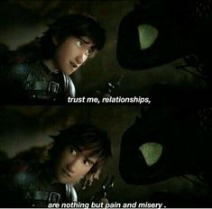Toothless looks like he's taking a mental note of this. Httyd Dragons, Dreamworks Dragons, Httyd 3, Disney And Dreamworks, Hiccup And Toothless, Hiccup And Astrid, Dragon Memes, Disney Jokes, Dragon Rider