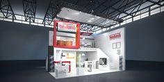 Heubach GmbH Konzeptentwurf zur K, Düsseldorf 47m² Doppelstock