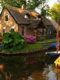 Canal House in The Netherlands