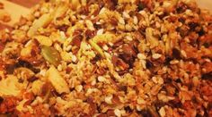 Paleo Orange Date Granola.