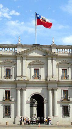 Palacio de Gobierno. La Moneda. Santiago de Chile
