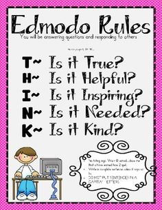 Edmodo Rules