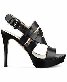 Marc Fisher Stanley Platform Sandals   Macy's