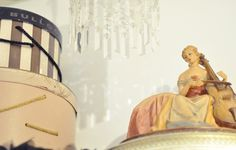 vintage hat boxes and vintage lady light by ...love Maegan, via Flickr