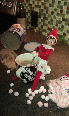Elf on a Shelf Mischief.