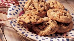 Chocolate Chip Cookies Add these nutty chocolate chip cookies to your dessert table - ready in 20 minutes.