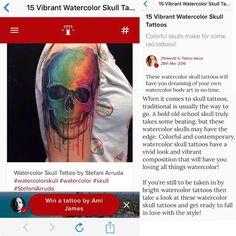 Muito obrigada @tattoodo e @21inkdd pela postagem  (Thank You so much @tattoodo and @21inkdd for This post ) #tattoo #tattoodo #tattoodobabes #stefaniarrudatattoo #tattoos #tatuagem #tatuering #tattooart #art #colorfull #skull #skulltattoo #skullcolor #skullcolorfull #watercolorskull #cranio #watercolor #watercolortattoo #aquarela #aquarelatattoo #sketch #sketchtattoo #color #colortattoo #blacktattooart #blackink #darkartist Contato : contato@heraclitotattoo.com.br by stefanitattoo