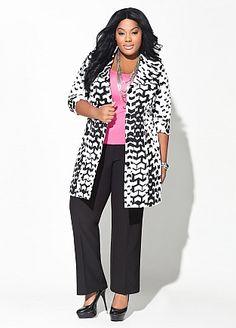 Career Looks - Ashley Stewart #FullFigure #PlusSize