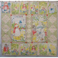 Blend Fabrics Little Red Cori Dantini Fairy Tale Quilt Kit 49 x 49   Precuts