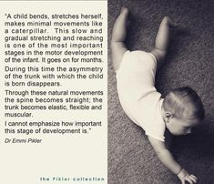 Be sure to give babies plenty of opportunities for this kind of movement! It is vital for healthy development. Education And Development, Baby Development, Curriculum Implementation, Infant Curriculum, Practice Quotes, Teaching Philosophy, Curriculum Planning, Preschool Themes, Baby Health