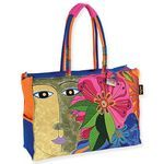Laurel Burch Blossoming Spirit Oversized Tote - LB5151