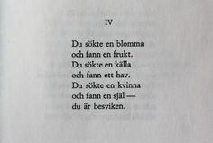 Dagen svalnar, Edith Södergran.