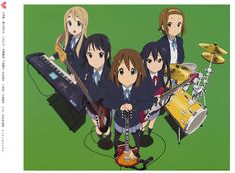 K-On! | Kakifly | Kyoto Animation / Hirasawa Yui, Tainaka Ritsu, Akiyama Mio, Kotobuki Tsumugi, and Nakano Azusa