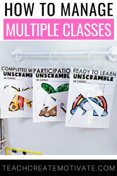 If you teach multiple classes, you know it can be tricky to implement effective classroom management strategies that work across all of your classes. To help ease this challenge, I'm sharing my favorite ideas, tips, and resources for managing student behavior that will be perfect for all of your classes! This includes everything from desk area expectations to classroom management games! Your students will love these ideas too!