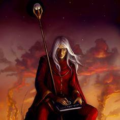 Dragon Lance - Raistlin Majere-  he won my heart at the very beginning!