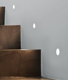 Low Level Plaster in Guide Lights