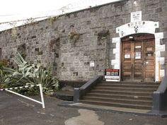 Located Near The Crown Hotel, Prison, Entrance, Sidewalk, Windows, Doors, Image, Buildings, Hotels, Crown