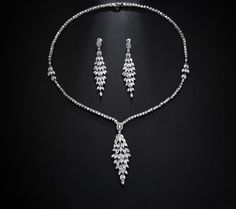 Shop CZ Diamond Long Waterdrop Jewelry Set from Casualbugtech, With Free Estimated Delivery Time:12-20days Item Type:Jewelry Sets Fine or Fashion:Fashion...