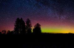 Virmalised 17.02.15 - Aurora Borealis 17.02 .15