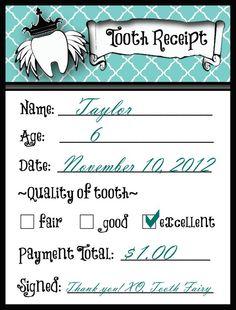 Tooth Fairy Ideas | Happy Home Fairy