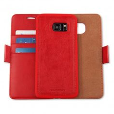 6118b7ef3bc Allure Case for Galaxy - Red · S7 EdgeGalaxy S7Phone CoversRedLeather Wallet MagnetsCases ...