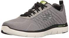Go Flex 2, Chaussures de Running Homme, Noir (Black), 44 EUSkechers