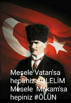 Mesele Vatan'sa hepimiz #ÖLELİM Mesele  Makam'sa hepiniz #ÖLÜN...!!!
