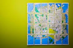 brooklyncisco? by sgoralnick, via Flickr- This would be fun to do with all of our maps