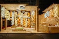 LZF Lamps Booth at Euroluce 2015, Milan – Italy » Retail Design Blog
