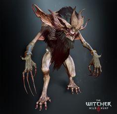 Katakan, The Witcher 3, Wild Hunt, Antonio Jose Gonzalez on ArtStation at https://www.artstation.com/artwork/q6ZYP