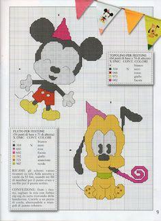Cutie's - Mickey & Pluto