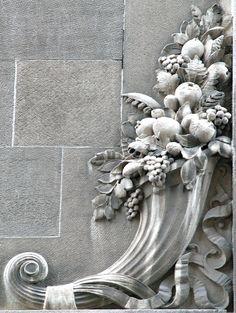 Ribboned Cornucopia, Left (Pittsburgh, PA)