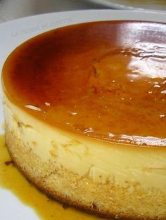 flan a la noix de coco Mousse, Thermomix Desserts, French Food, Caramel, Delicious Desserts, Meal Prep, Cheesecake, Brunch, Food And Drink