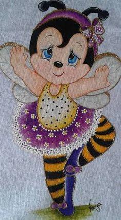 Resultado de imagem para risco de abelha para pintura em tecido