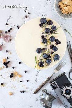 Sütés nélküli, gyors áfonyás torta – sutisdobozoom