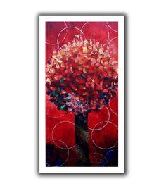 'Red Lolli Pop' by Shiela Gosselin Canvas Poster