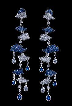 Jewellery Theatre: Clouds Earrings