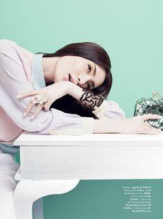 "Candy Girl"": Jillian by Raja Siregar for Elle Indonesia"