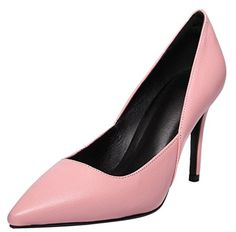 Calaier Womens Jtaan Pointed-Toe Stiletto Slip-on P. Pink Dress Shoes, Kitten Heels, Slip On, Toe, Pumps, Fashion, Zapatos, Choux Pastry, Moda