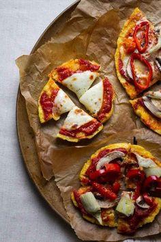 Polenta Pizza Bites | 33 Cuddly And Delicious Beds Of Polenta