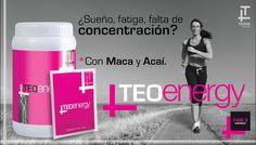 TEO ENERGY:Es un producto con una formula muy potente, rico en ingredientes que proveen energía