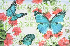 I uploaded new artwork to fineartamerica.com! - 'Butterfly Garden-f' - http://fineartamerica.com/featured/butterfly-garden-f-jean-plout.html via @fineartamerica