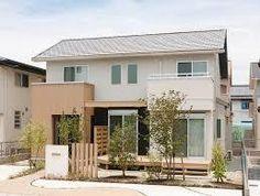「ナチュラル モ...」の画像検索結果 Japan Modern House, Japan House Design, House Front Design, Cute House, My House, Style At Home, Interior Exterior, Exterior Design, Modern House Floor Plans