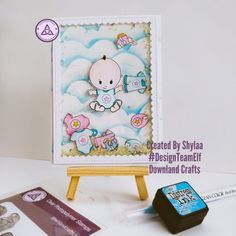 Clear Photopolymer New Baby Stamps Digital Stamps, One Design, Baby Cards, Paper Cutting, New Baby Products, Card Making, Baby Boy, Paper Crafts, Crafty