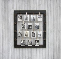 Hanging picture frame by SophieLaVae on Etsy